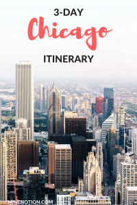 3 Day Chicago Itinerary For First-Time Visitors - Mint Notion