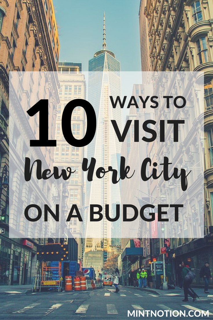 Want to visit NYC on a budget? Use these great tips to save money while seeing the top attractions with the New York Pass, including the Empire State Building, Top of the Rock, and a Hop on Hop off bus tour. #nyctrip #newyorkcity