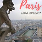 6-day Paris Itinerary
