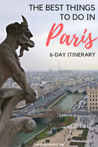 6-day Paris Itinerary
