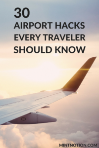 30 airport hacks every traveler should know