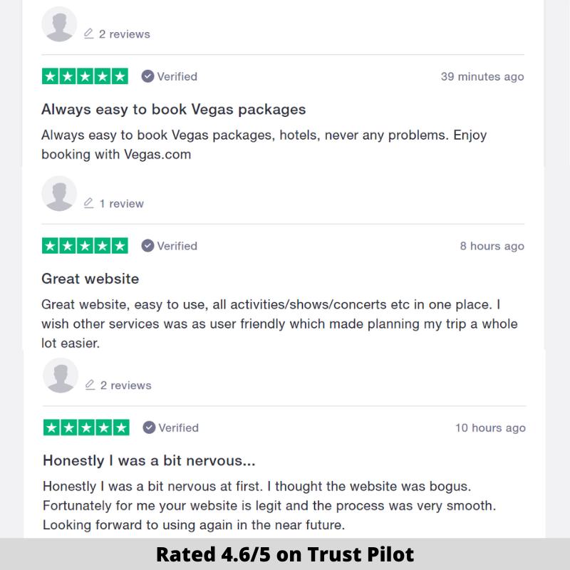vegas.com reviews