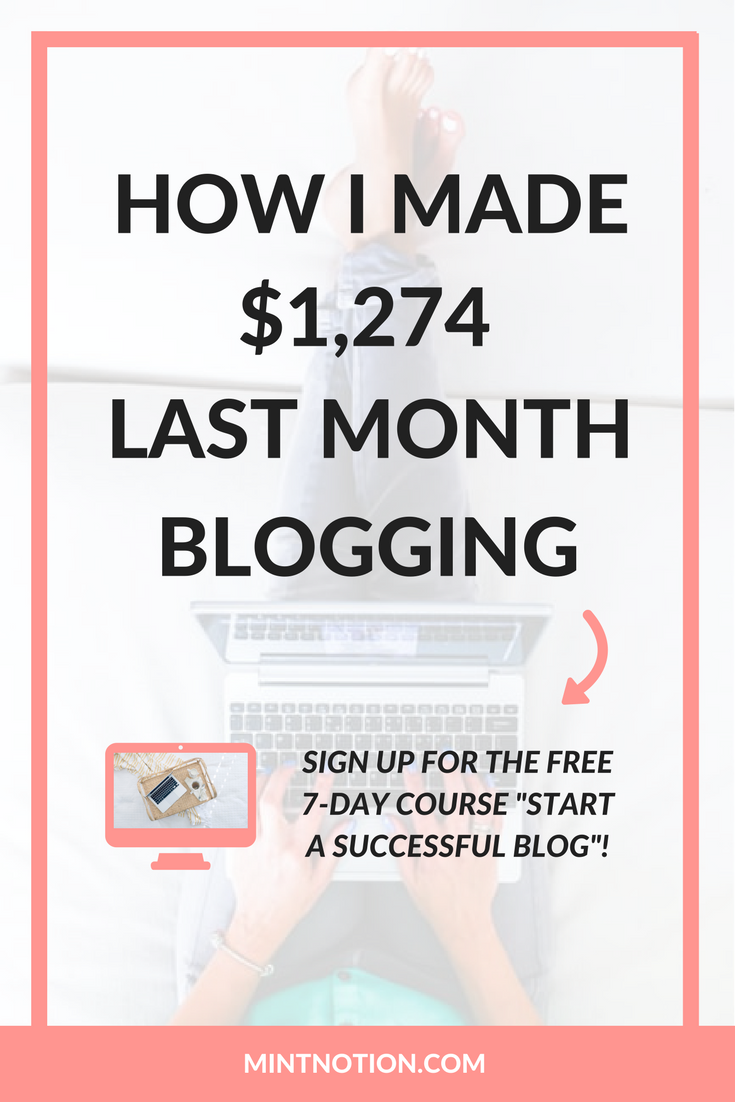 My September 2016 blog income report. Find out how I made $1,274 from blogging last month without doing any sponsored posts. Learn how to make money online and earn extra income.