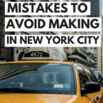 Tourist mistakes to avoid making in New York City