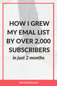 How Converkit Helped Grow My Email List 706% In Just 2 Months