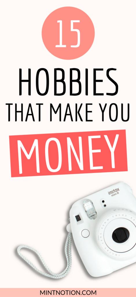 15 fun hobbies that make you money
