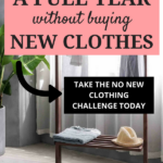 How I went an entire year without buying new clothing