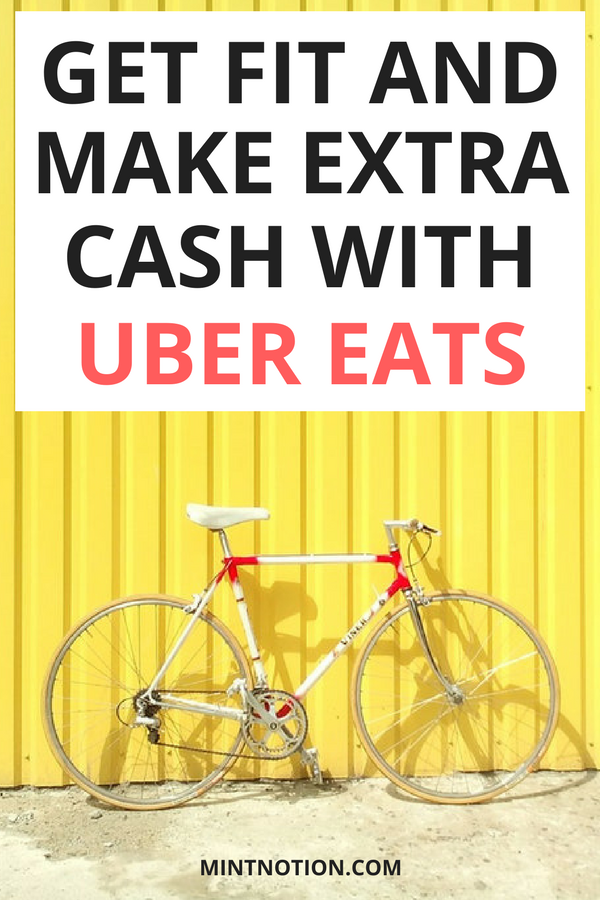Make extra money in your spare time with Uber Eats