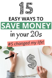 15 Easy Ways To Save Money In Your 20s