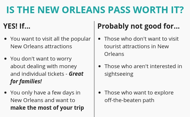 Is the New Orleans pass worth it?