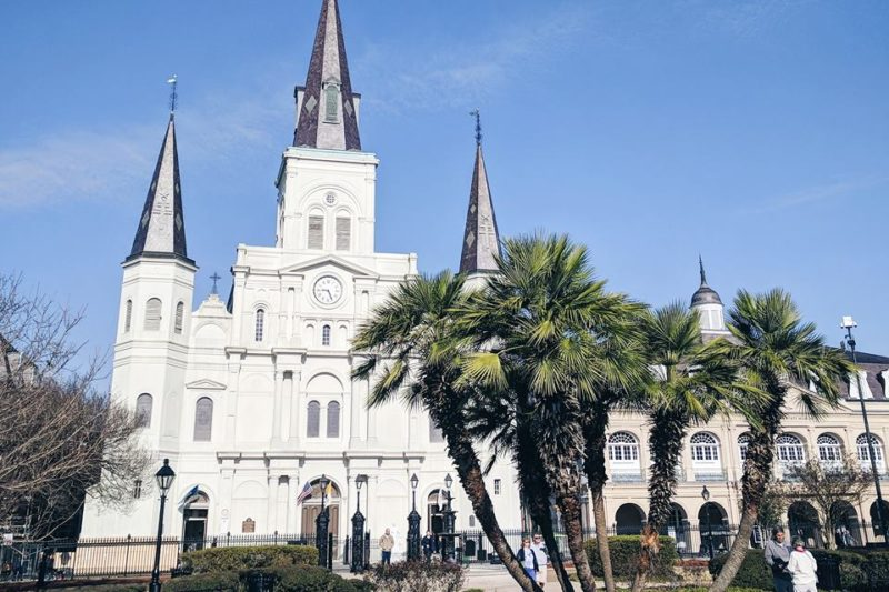 visiting new orleans for the first time