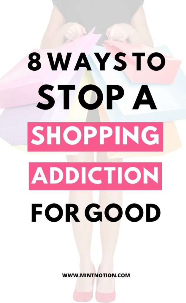 how to stop a shopping addiction