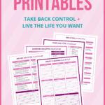 declutter binder printables
