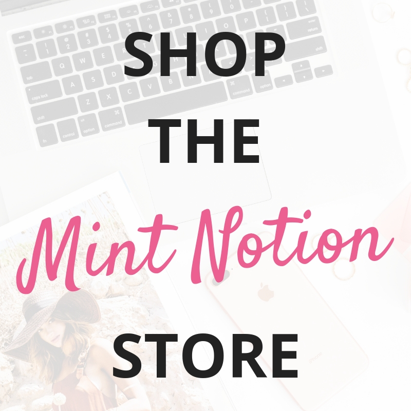 Mint Notion Shop