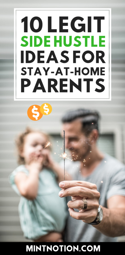 10 legit side hustles perfect for stay-at-home dads