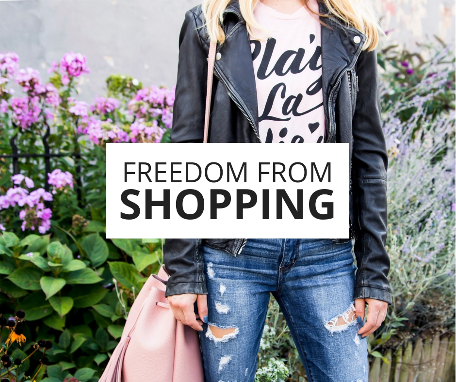 Freedom From Shopping - Stop Impulse Spending and Save Money