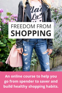 Freedom From Shopping course