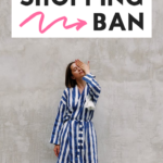 how to save money with a shopping ban