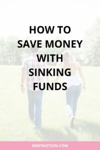 How to save money with sinking funds