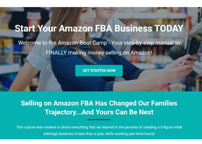 earn money from home selling stuff on amazon fba