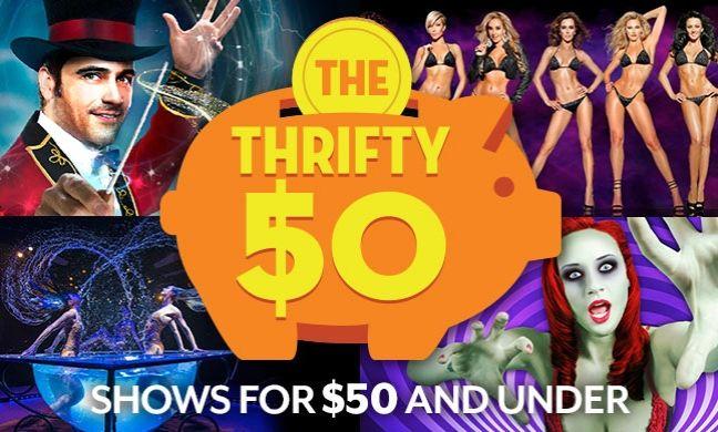 Las Vegas show deals