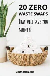 going zero waste can save you money