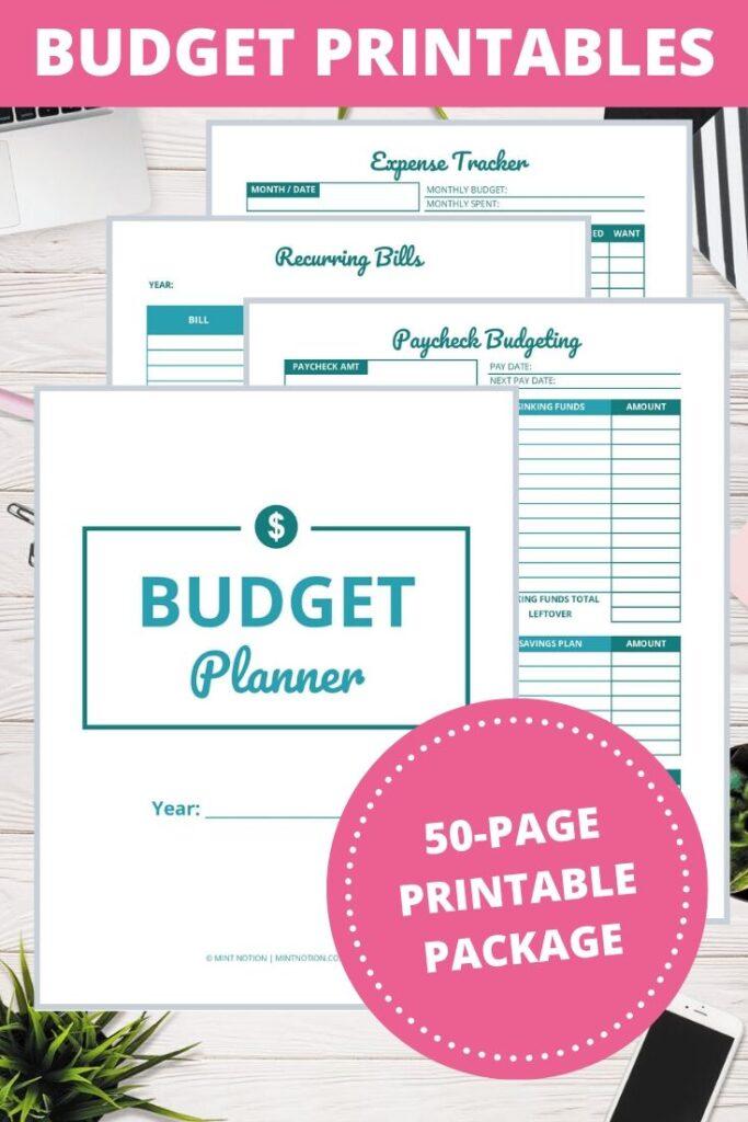 Budget Template Printable