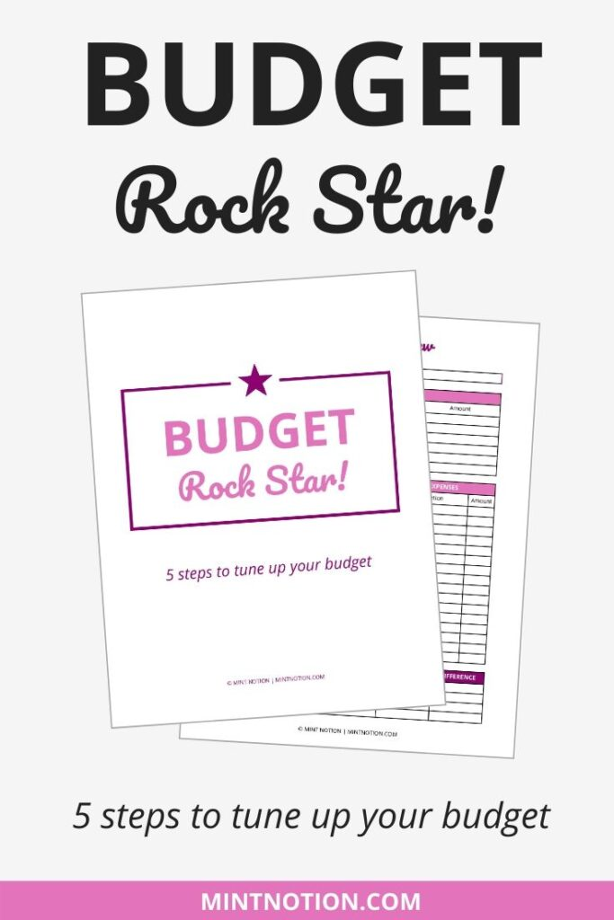 how to create a successful budget