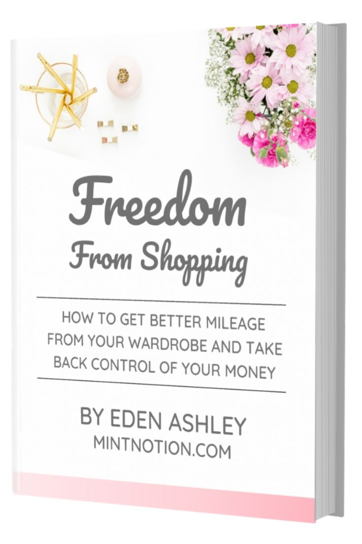 Freedom from shopping book