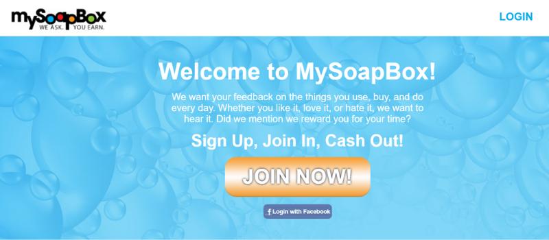 online surveys that pay cash - my soap box