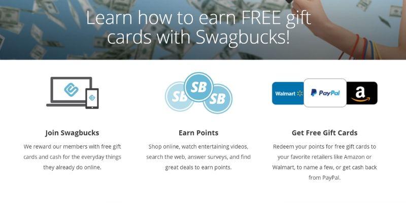 make extra money with swagbucks