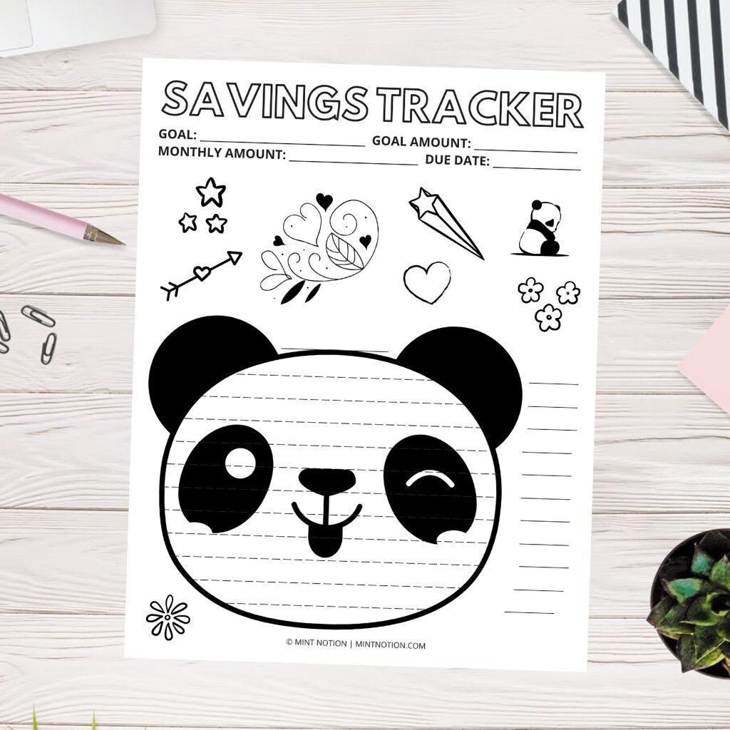 panda savings tracker