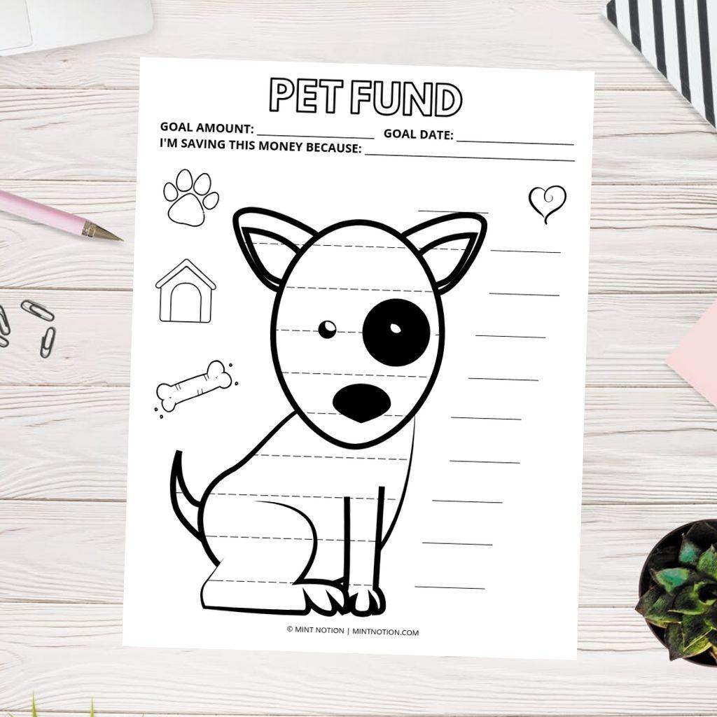 pet savings tracker