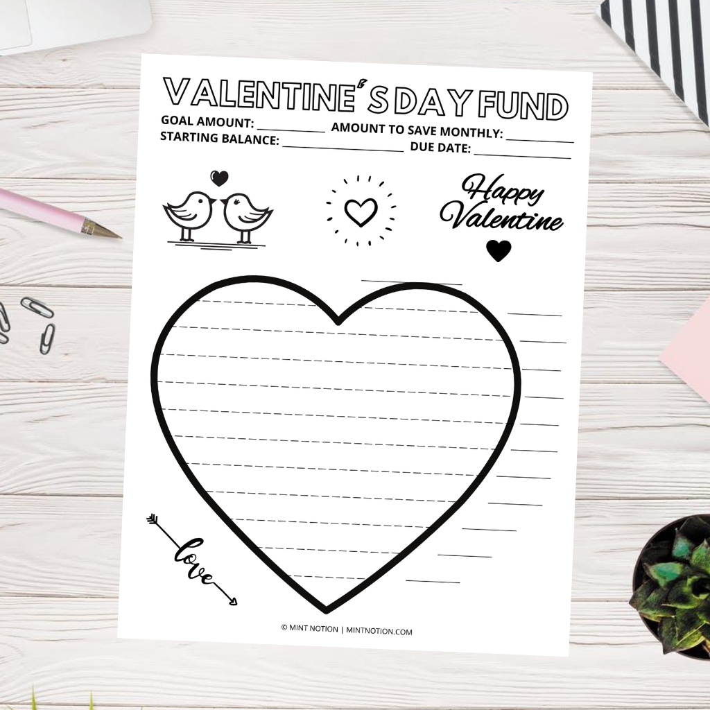 valentine's day savings coloring pages printables