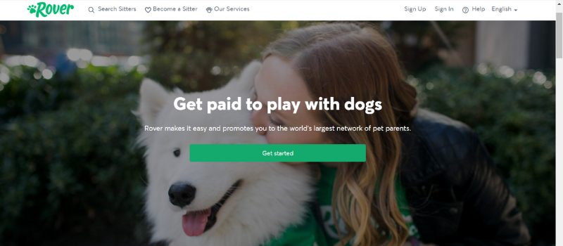 make money petsitting dogs on Rover