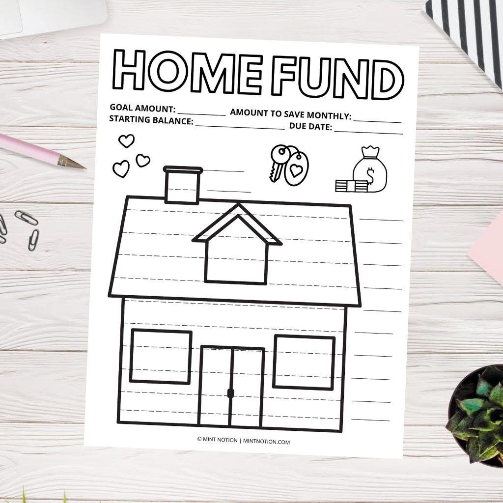 house sinking fund tracker