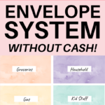 how to use the cash envelope system without cash