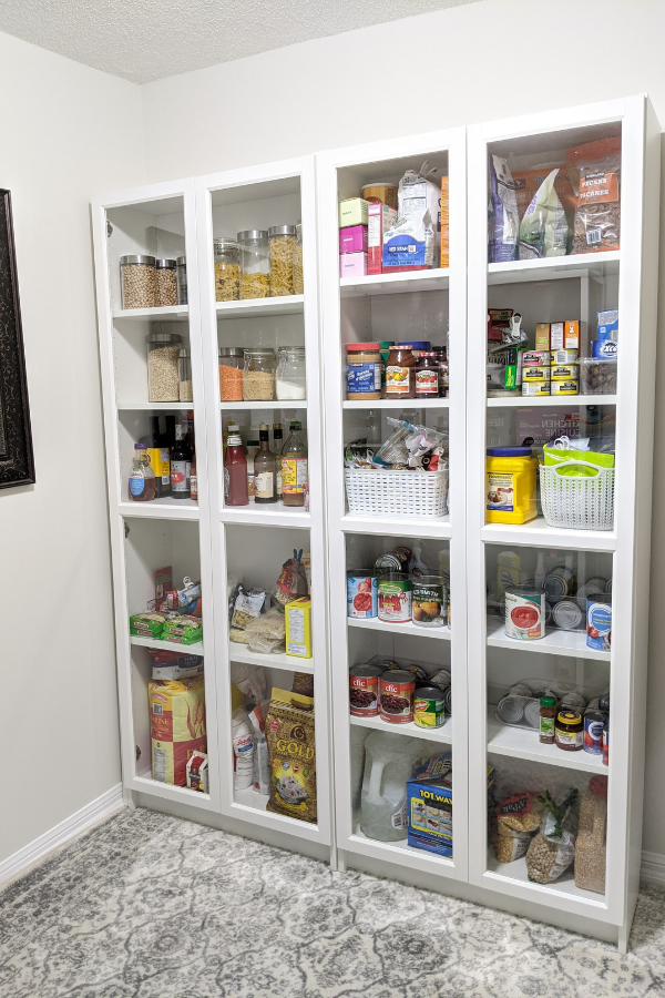 dyi walk-in pantry (after photo)