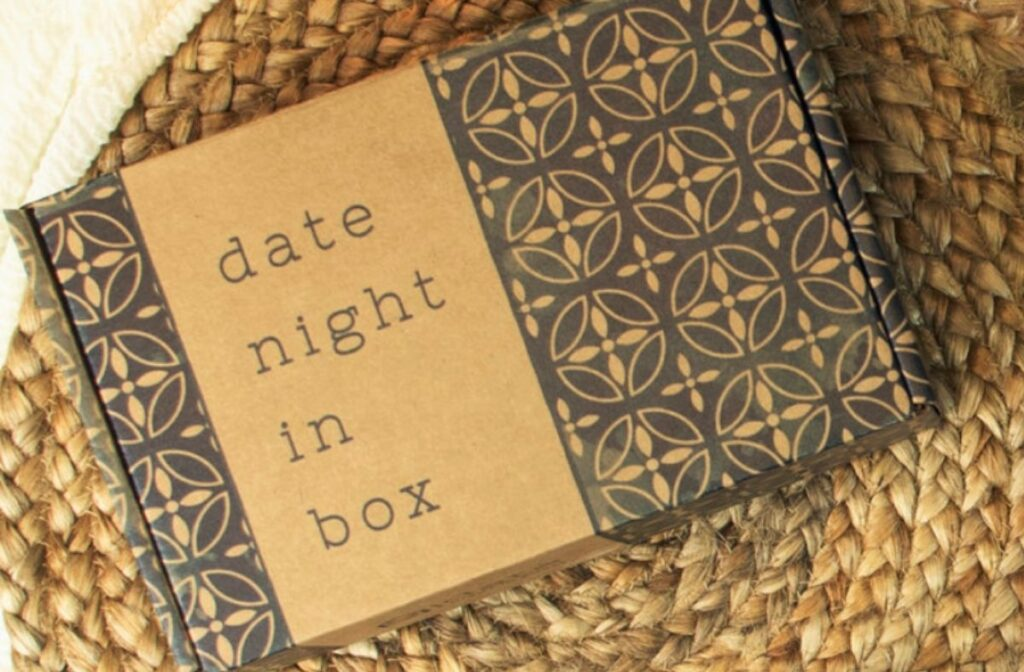 at home date night ideas - date night in box