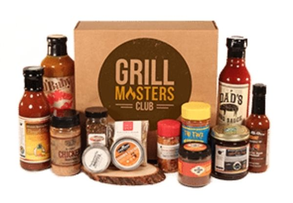 subscription box gift - grill master club