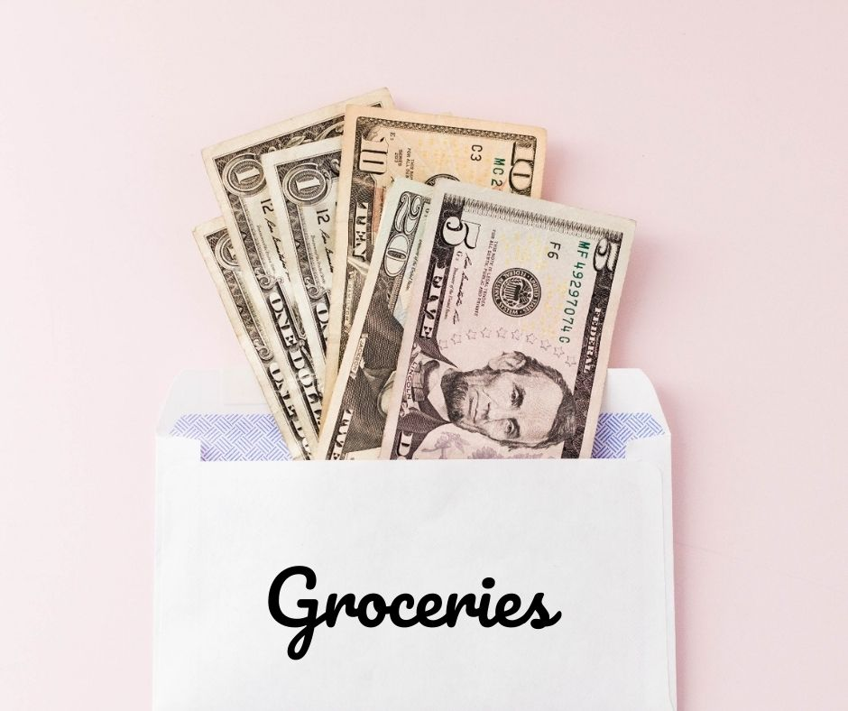 save money on groceries - cash envelopes