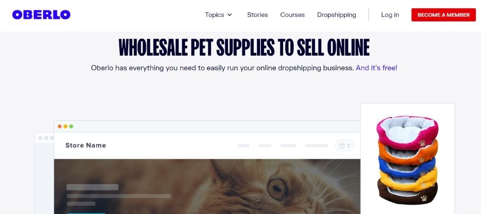make money with dogs - dropshipping oberlo