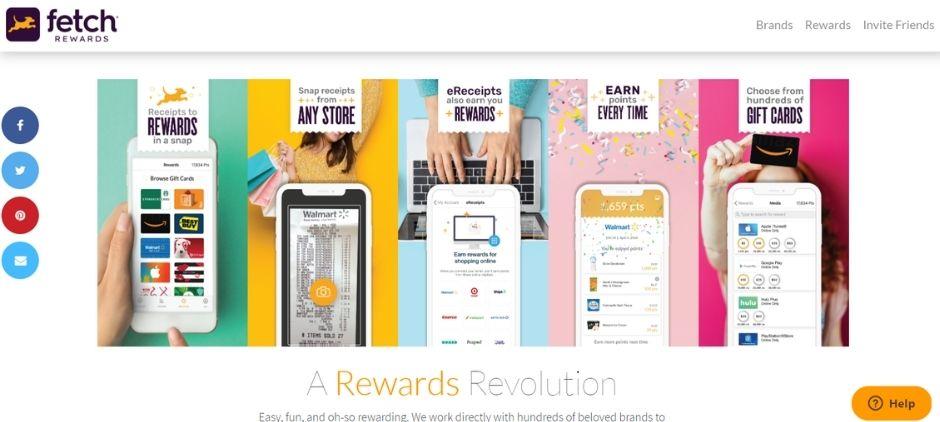best cash back apps - fetch rewards