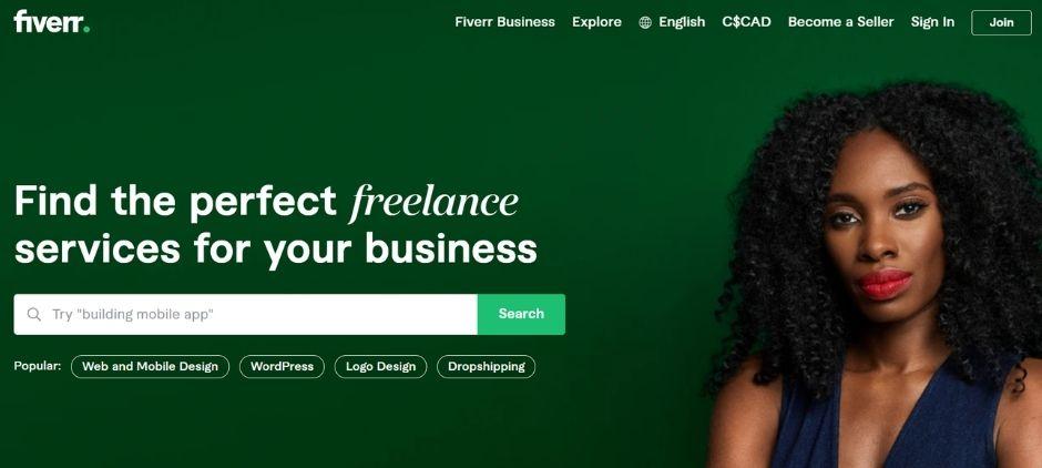make money online - freelance on fiverr